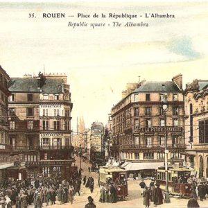 Postkort fra Rouen, Frankrike