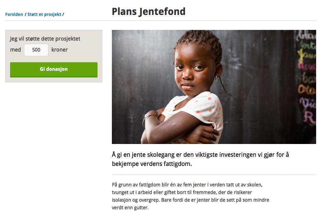Plans jentefond